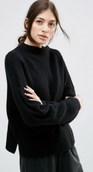 ASOS, Ultimate Chunky Jumper with High Neck, £25