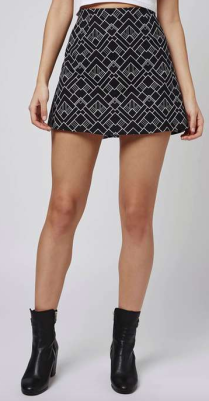 TOPSHOP, Annie Skirt by MOTEL, £30