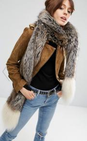 ASOS, Faux Fur Scarf, £32